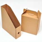Assorted die cut packaging